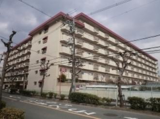 メガロコープ茨木の外観
