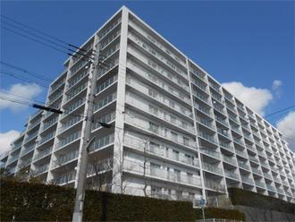 サンシティ須磨名谷の外観