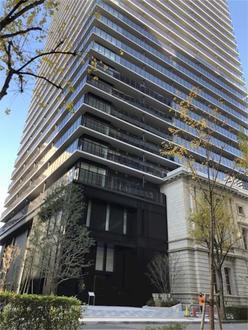 ザ・パークハウス神戸タワーの外観