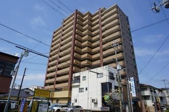 藤和シティホームズ三田駅前の外観