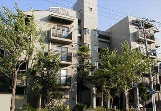 夙川レックスマンションの外観
