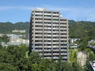 リビオ六甲高羽ガーデンスクエアの外観