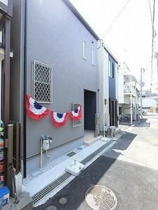 神戸市中央区大日通5丁目 新築戸建の外観