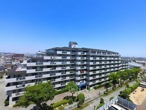 ファミールハイツ加古川壱番館の外観