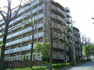 神戸熊内町パークハウスの外観